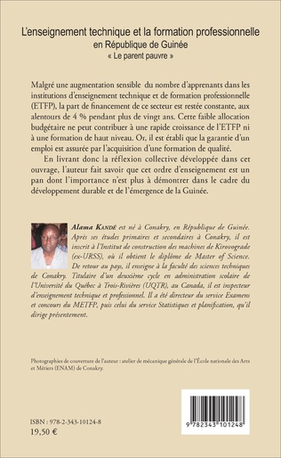 4eme L'enseignement technique et la formation professionnelle en République de Guinée