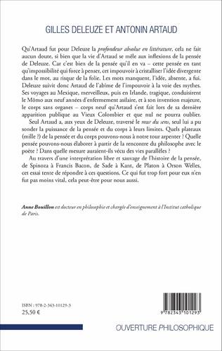 4eme Gilles Deleuze et Antonin Artaud