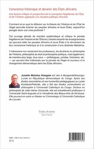 4eme Conscience historique et devenir des Etats africains