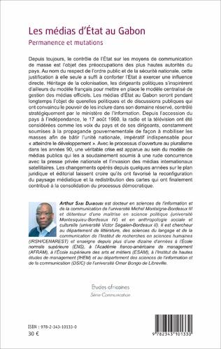 4eme Les Médias d'Etat au Gabon