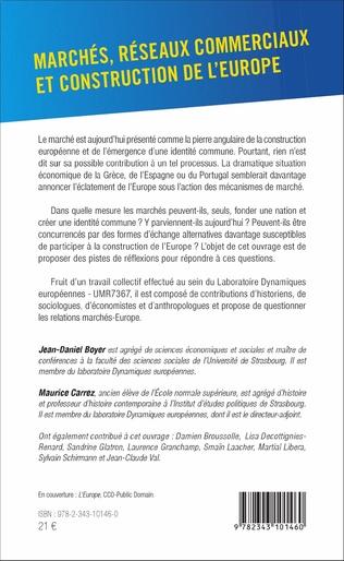 4eme Marchés, réseaux commerciaux et construction de l'Europe