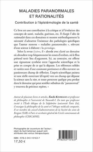 4eme Maladies paranormales et rationalités