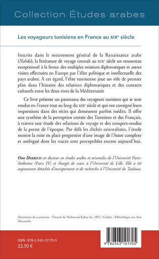 4eme Les voyageurs tunisiens en France au XIXè siècle