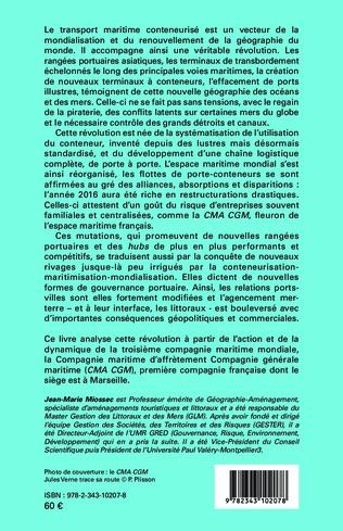 4eme Le conteneur et la nouvelle géographie des océans et des rivages de la mer