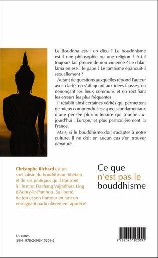4eme Ce que n'est pas le bouddhisme