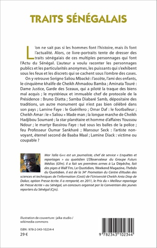 4eme Traits sénégalais