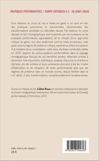 4eme Pratiques performatives / corps critiques