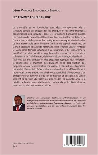 4eme Les Femmes Lokélé en RDC