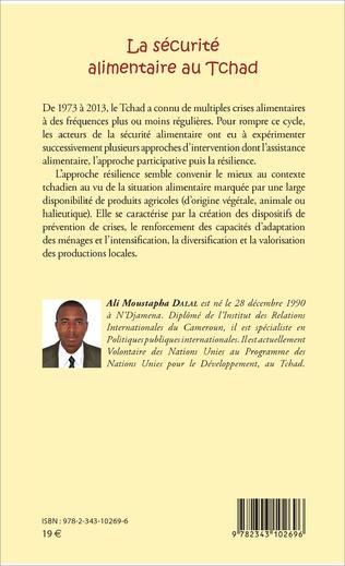 4eme La sécurité alimentaire au Tchad