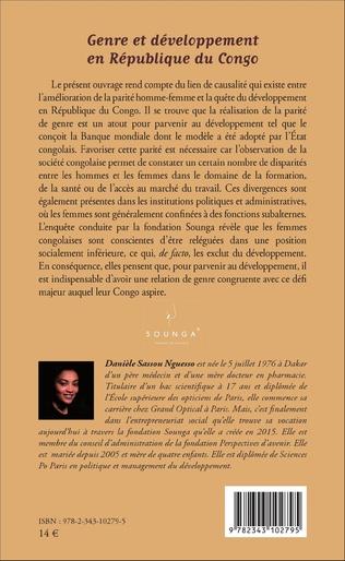 4eme Genre et développement en République du Congo