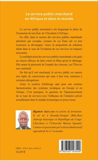 4eme Le service public marchand en Afrique et dans le monde