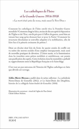 4eme Les catholiques de l'Isère et la Grande Guerre 1914-1918