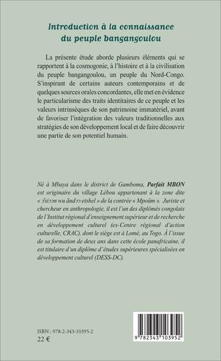 4eme Introduction à la connaissance du peuple bangangoulou