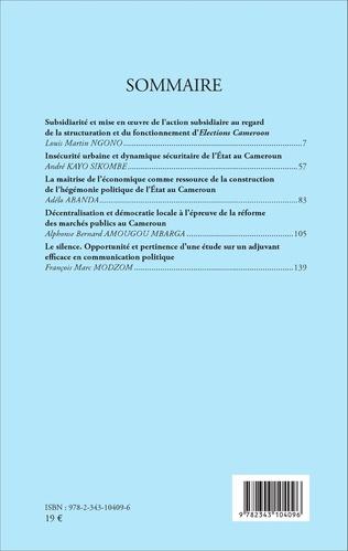 4eme Revu africaine n°2 / 2016 d'études politiques & stratégiques