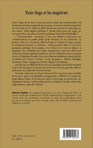 4eme Victor Hugo et les magistrats