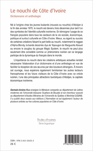 4eme Le nouchi de Côte d'Ivoire