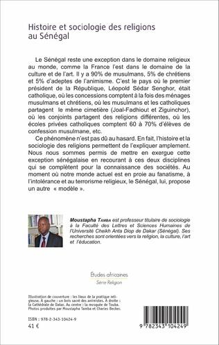 4eme Histoire et sociologie des religions au Sénégal