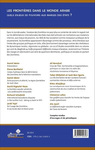 4eme Crise de l'État, territorialités et fragmentations politiques en Libye