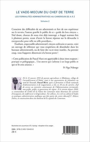 4eme Le vade-mecum du chef de terre (volume 2)