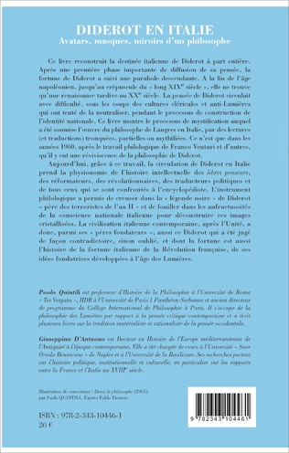 4eme Diderot en Italie