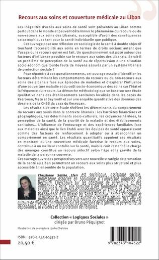 4eme Recours aux soins et couverture médicale au Liban