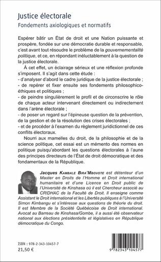 4eme Justice électorale