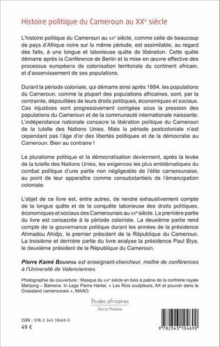 4eme Histoire politique du Cameroun au XXè siècle
