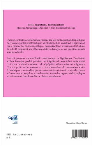 4eme École, migrations, discriminations