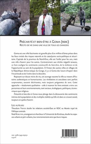 4eme Précarité et bien-être à Goma (RDC)