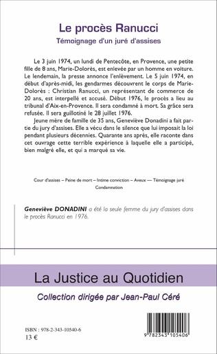 4eme Le procès Ranucci