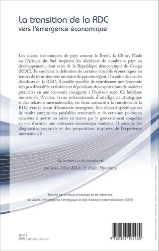 4eme La transition de la RDC vers l'émergence économique