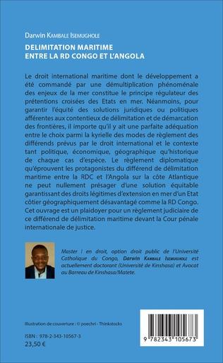 4eme Délimitation maritime entre la RD Congo et l'Angola
