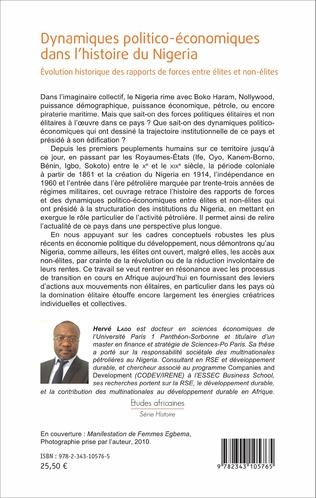 4eme Dynamiques politico-économiques dans l'histoire du Nigéria