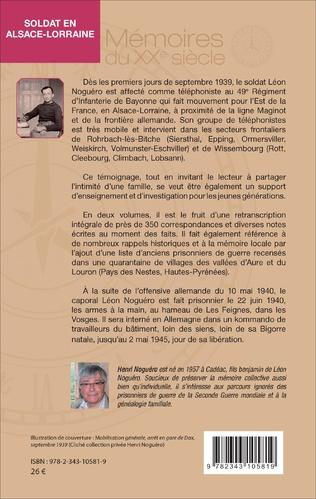 4eme Soldat en Alsace-Lorraine