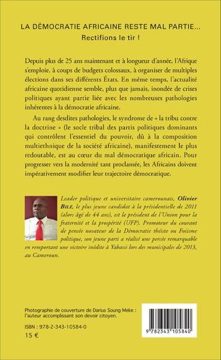 4eme La démocratie africaine reste mal partie...