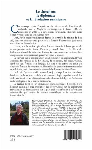 4eme Le chercheur, le diplomate et la révolution tunisienne