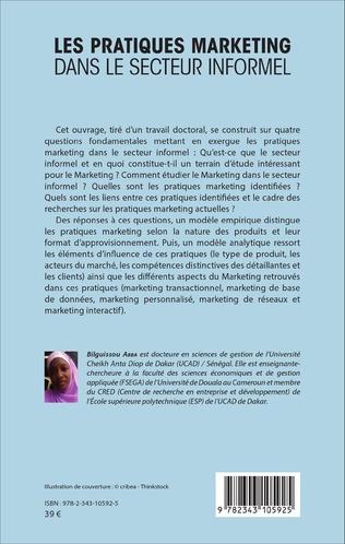 4eme Les pratiques marketing dans le secteur informel