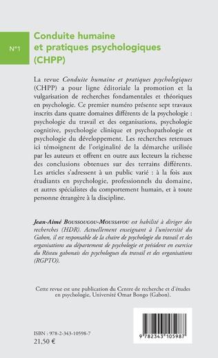 4eme Conduite humaine et pratiques psychologiques (CHPP)