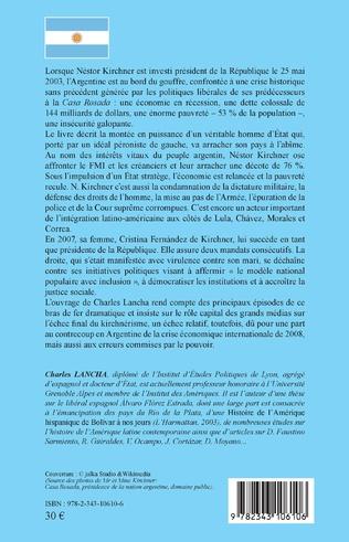 4eme L'Argentine des Kirchner (2003-2015)