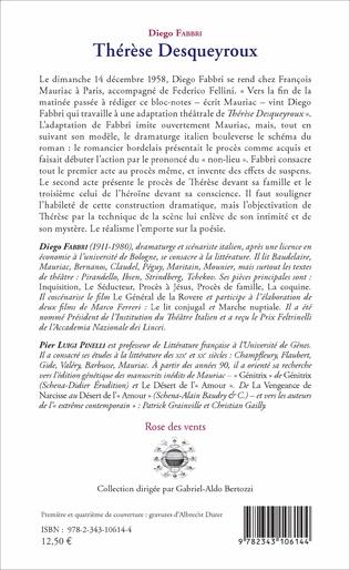 4eme Thérèse Desqueyroux