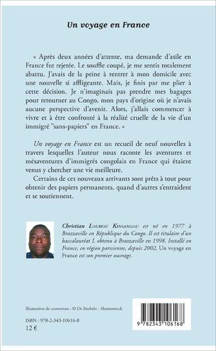 4eme Un voyage en France
