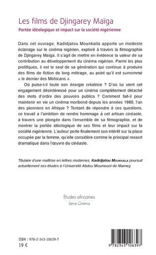 4eme Les films de Djingarey Maïga
