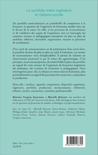 4eme Le portfolio entre ingénierie et reliance sociale