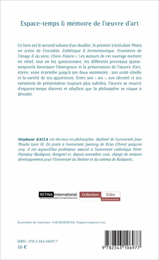 4eme Espace-temps et mémoire de l'oeuvre d'art