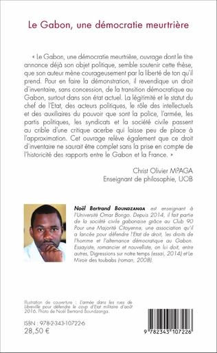 4eme Le Gabon, une démocratie meurtrière