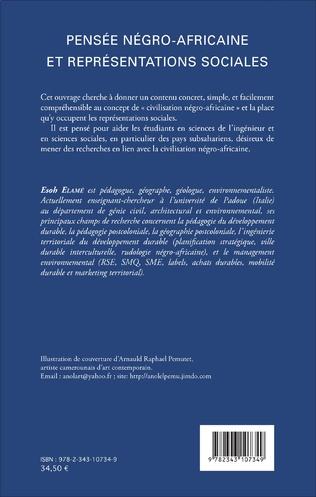 4eme Pensée négro-africaine et représentations sociales