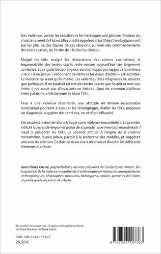 4eme La violence monothéiste : mythe ou réalité ?