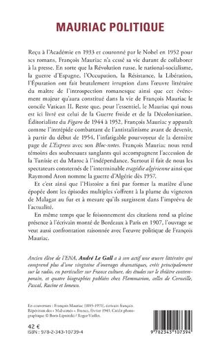 4eme Mauriac politique