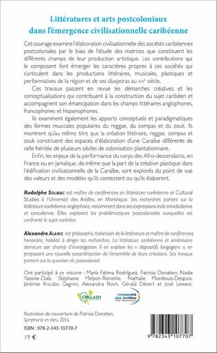 4eme Littératures et arts postcoloniaux dans l'émergence civilisationnelle caribéenne