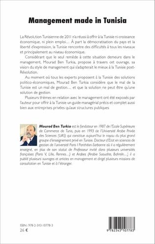 4eme Management made in Tunisia